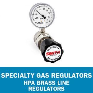 HPA Brass Line Regulators