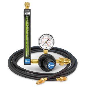 22-30-580-6 Argon/CO2/Helium Flowmeter Regulator with Hose, 30 PSIG