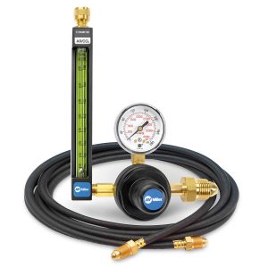 22-80-580-6 Argon/CO2 Flowmeter Regulator with Hose, 80 PSIG