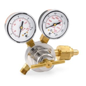 30-100-350 Medium Duty Hydrogen Regulator, 0-100 PSIG