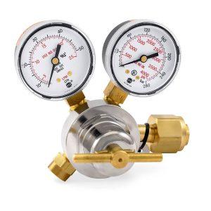 31-50-320 Flow Gauge Co2 Regulator, 50 SCFH