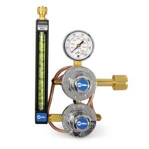 35-30-320 CO2 Flowmeter Regulator with Heat Exchanger