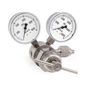827-6628 Heavy-Duty High-Pressure Single Stage Cylinder Regulator 6000 PSIG