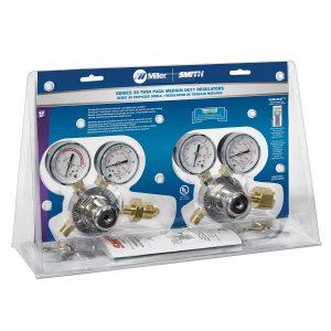 HTP2 Single-Stage Oxy/Acetylene Regulator Twin Pack