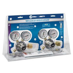 HTP5 Single-Stage Oxy/Acetylene Regulator Twin Pack
